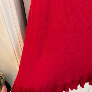 Nasty Gal Dresses - Nasty Gal Red Tie-shoulder Dress
